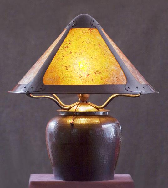 Large Acorn Lamp