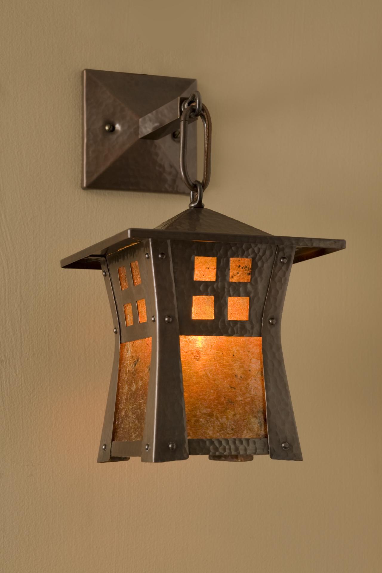 Riverside Lantern Sconce