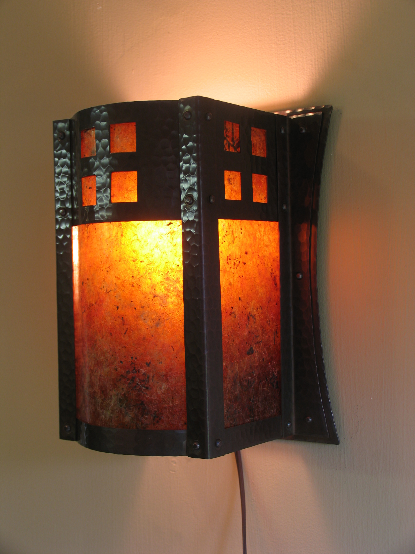 Riverside Flush mount sconce