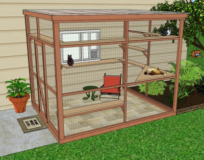 Outdoor Spaces For Your Cat