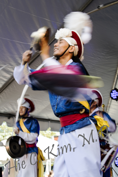 Korean Samul Dance