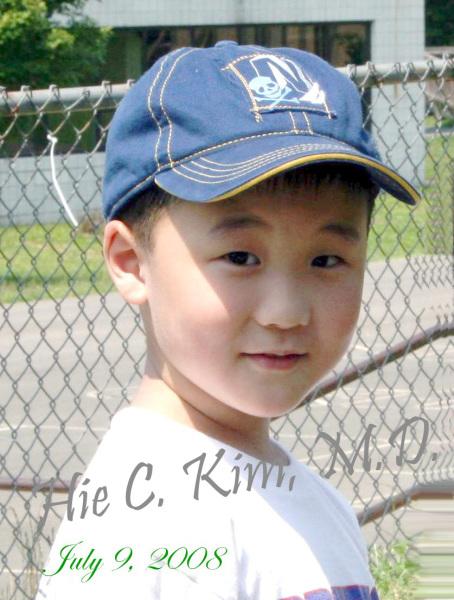 A Little Baseball Player