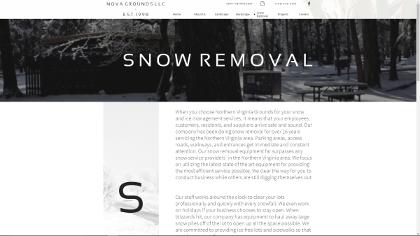 Snow Removal Page