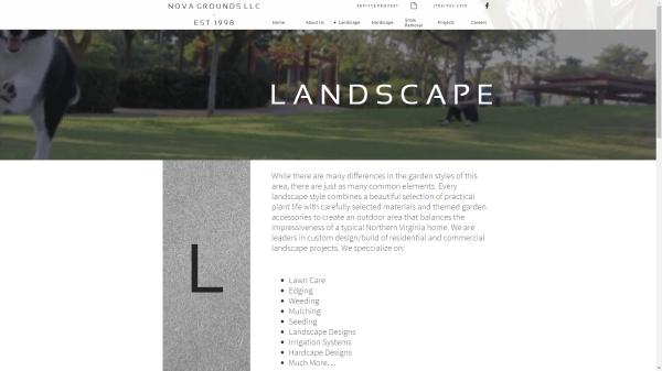 Landscape Page