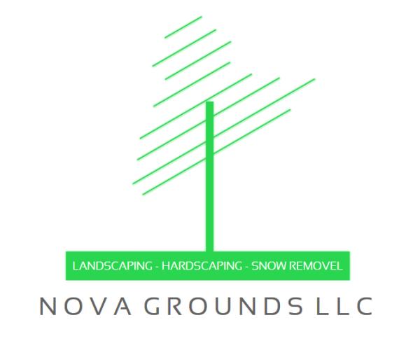NOVA Grounds LLC Logo Design 1