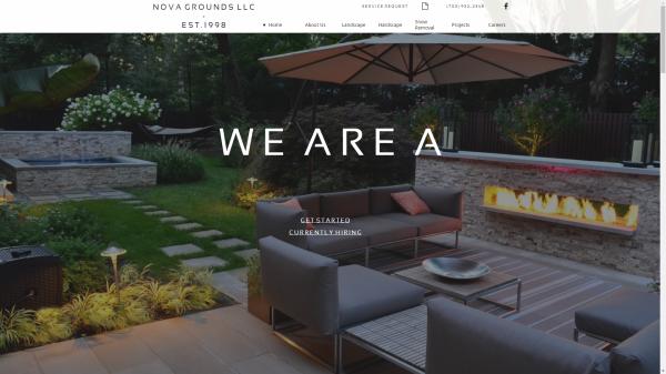 NOVAGrounds LLC Website Redesign