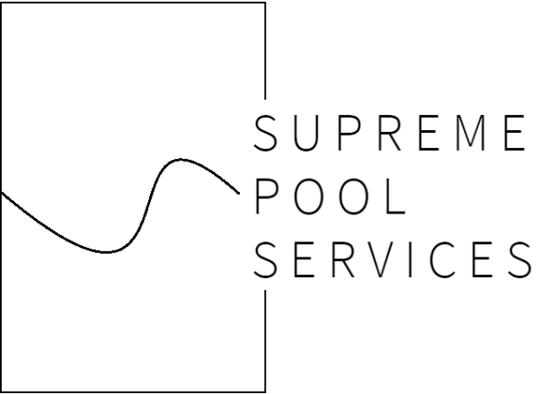 Supreme Pool Service Logo Design