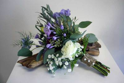 Flower Girl Garden Bouquet
