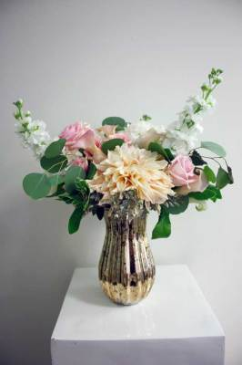 Gold Vase Arrangement