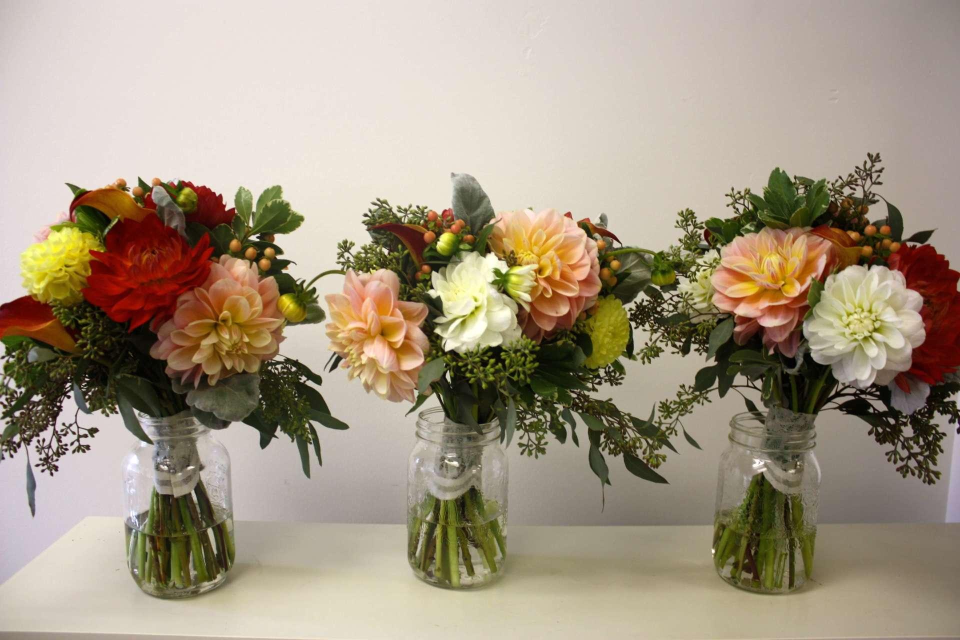 Dhalia Bouquets