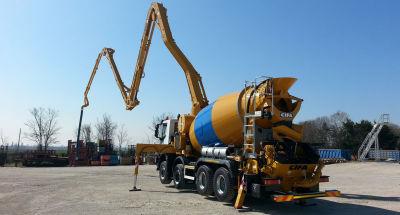 Concrete Pump Driver