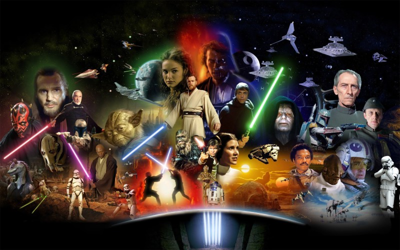 I Find Your Lack of Faith Disturbing: My Ranking of the Star Wars Films
