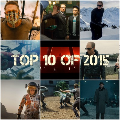 My Top 10 Movies of 2015