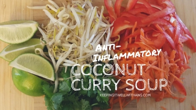 Anti-Inflammatory Coconut Curry Soup Recipe