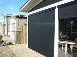 pvc cafe bistro outdoor patio blinds in the avon valley