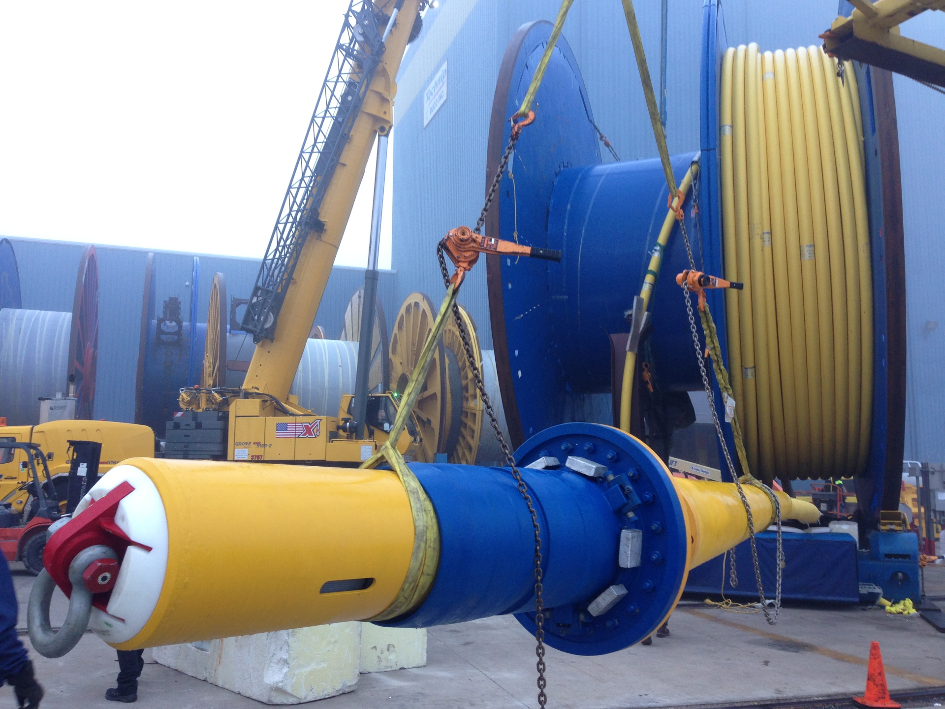 Subsea, Umbilical, Infield, Dynamic, Technip, Reels, Load out, System, Integration, Testing, , Mudmat, Termination, Assembly, SUTA, IUTA, Third, Party Inspection, Channelview, Houston, Texas, Dragon, Deepwater, Engineering, Management, Consultants, Installation, Commissioning, Packing, Reels, Carousel, Topside, BSLM, Bend, Stiffner, Latch, Mechanism, Pull, Head