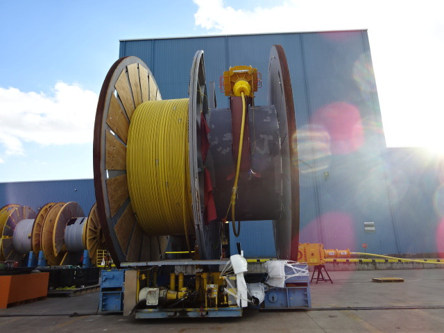 Subsea, Umbilical, Infield, Dynamic, Technip, Reels, Load out, System, Integration, Testing, , Mudmat, Termination, Assembly, SUTA, IUTA, Third, Party Inspection, Channelview, Houston, Texas, Dragon, Deepwater, Engineering, Management, Consultants, Installation, Commissioning, Packing, Reels, Carousel