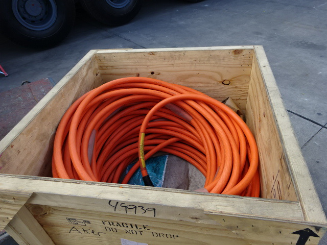 EFL, Electrical, Flying, Lead, Anguila, Oil, Filled, Hose