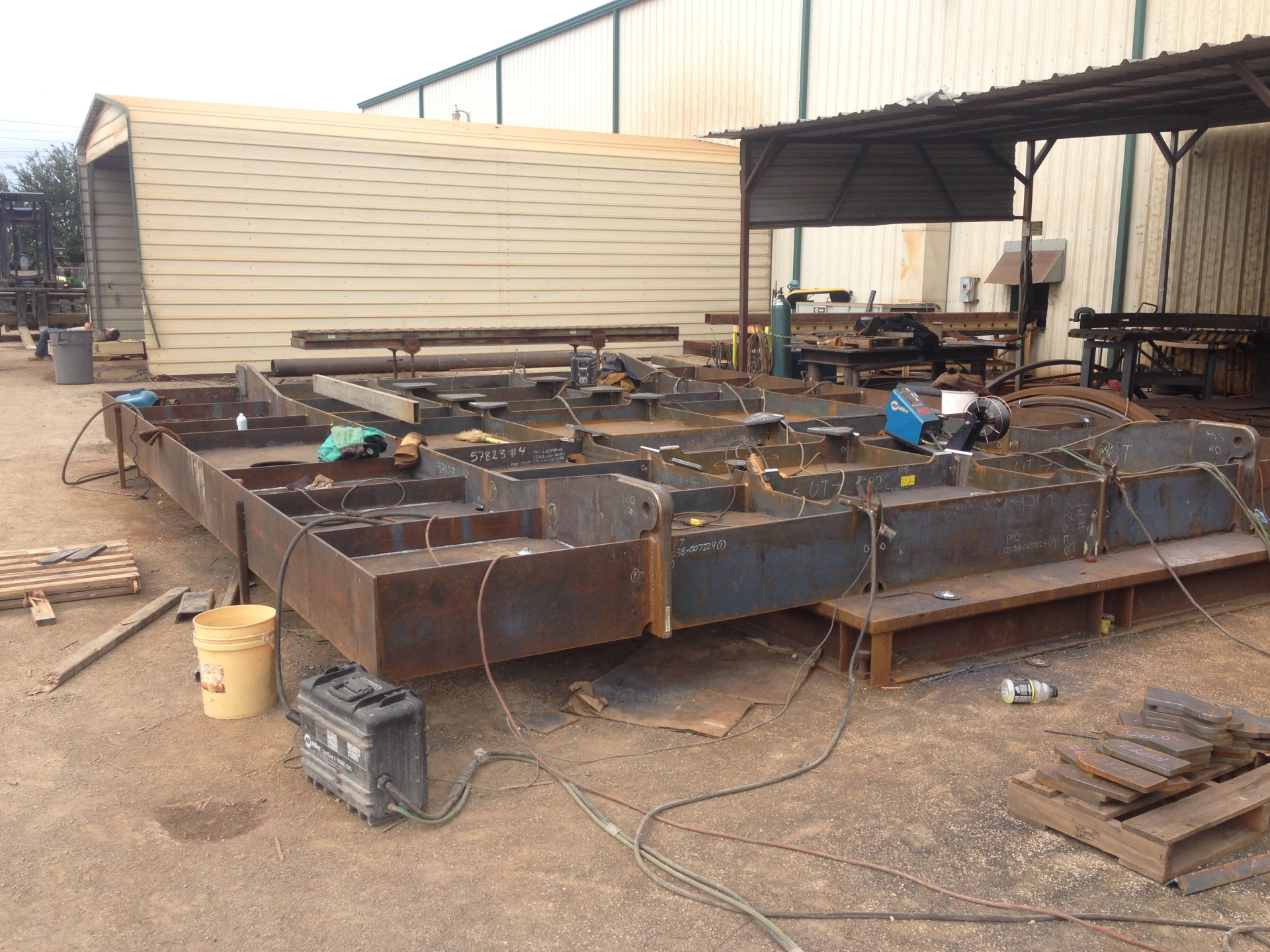 Mud, Mat, Fabrication, Welding, Manufacturing, Manufacture, Umbilical, Table,
