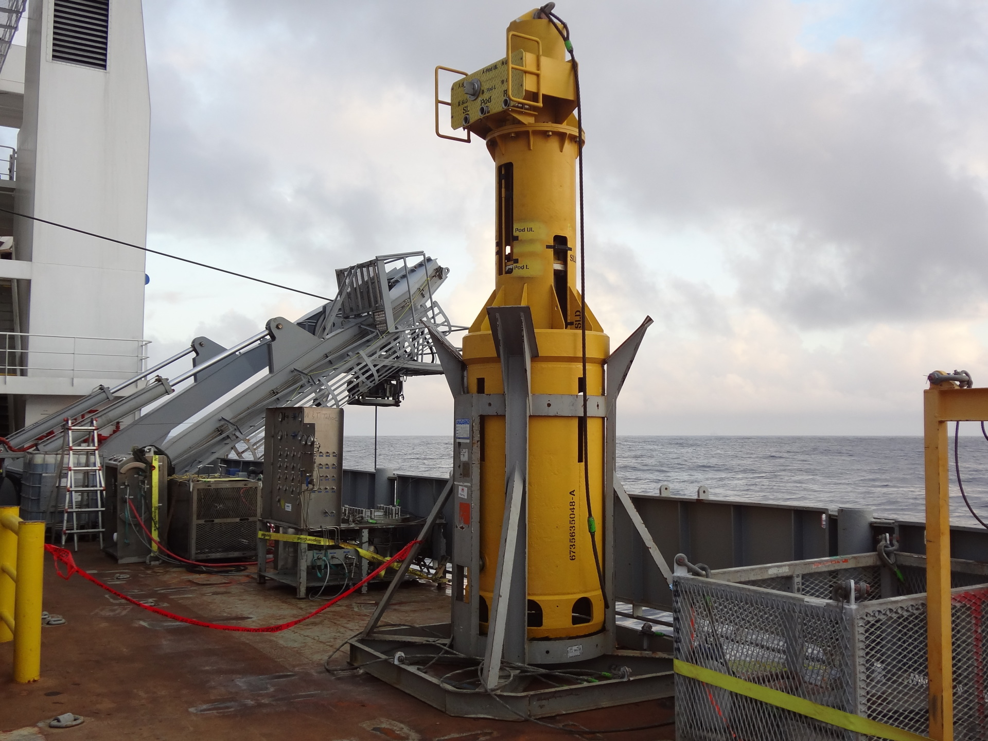 SCM, Subsea, Control, Module, Running, Tool, Frame, Offshore, Installation, Swap, Pod, Replacement, SCMRT
