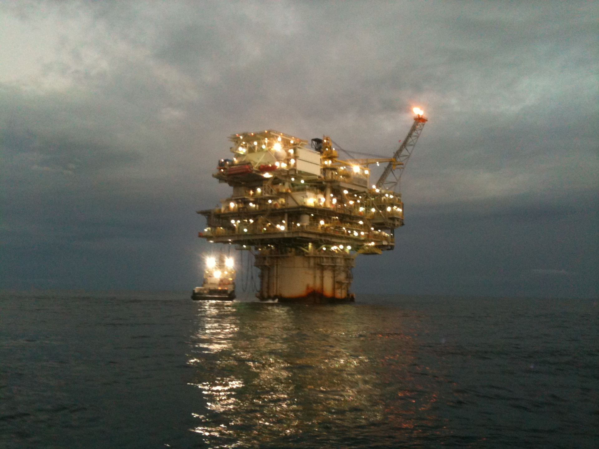 Spar, Deepwater, Installation, Facilitiy, Gulf of Mexico
