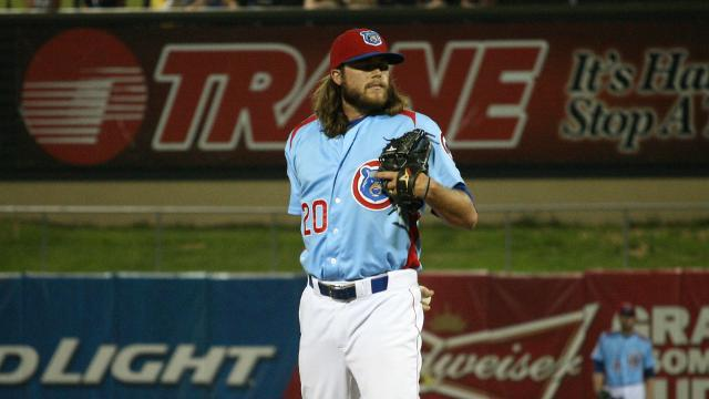Pitching Prospect Francescon Suspended