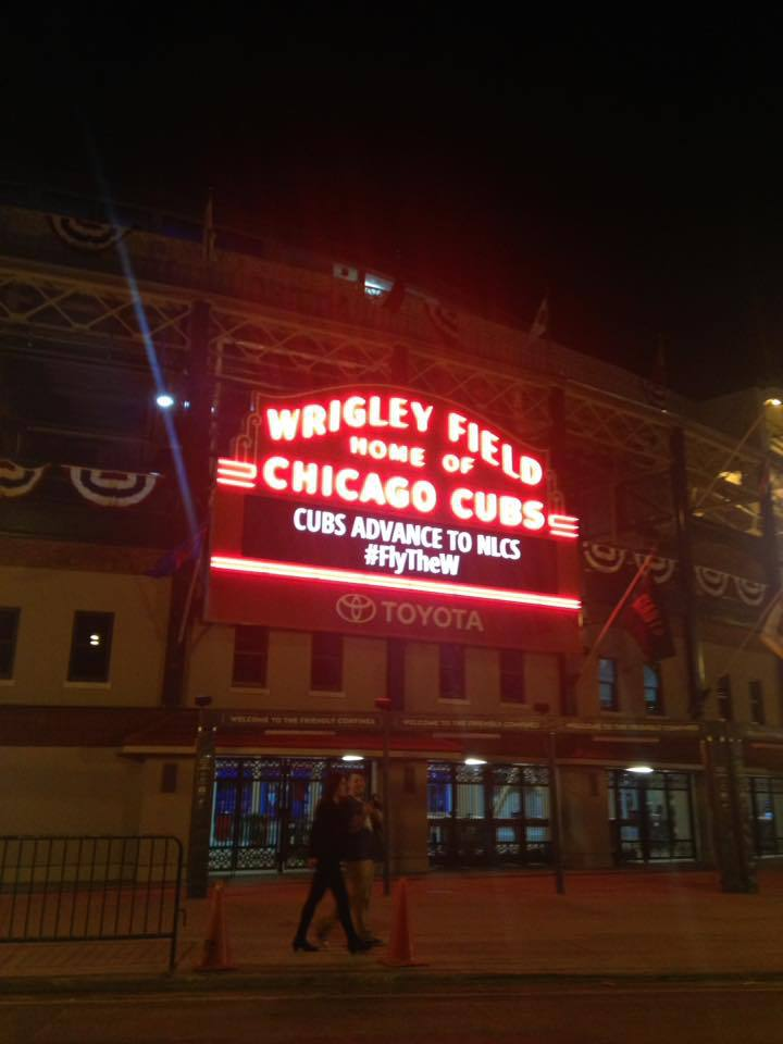 Cubs To NLCS To Face ????? 10-12-2016