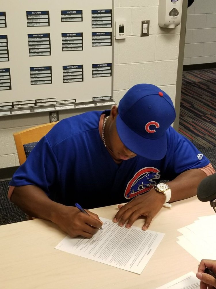 Cubs Sign Their Top 22 Choices 7-7-2017