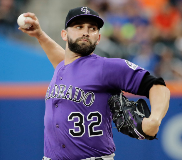 Cubs Sign Tyler Chatwood 12-7-2017