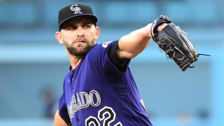 Tyler Chatwood And Six Man Island 12-8-2017