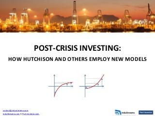 Investing Post Crisis