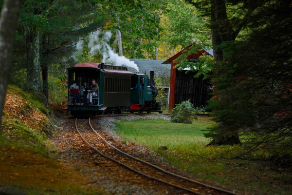 TheBoothbay railway museum is fun for the whole family and includes a classic car collection