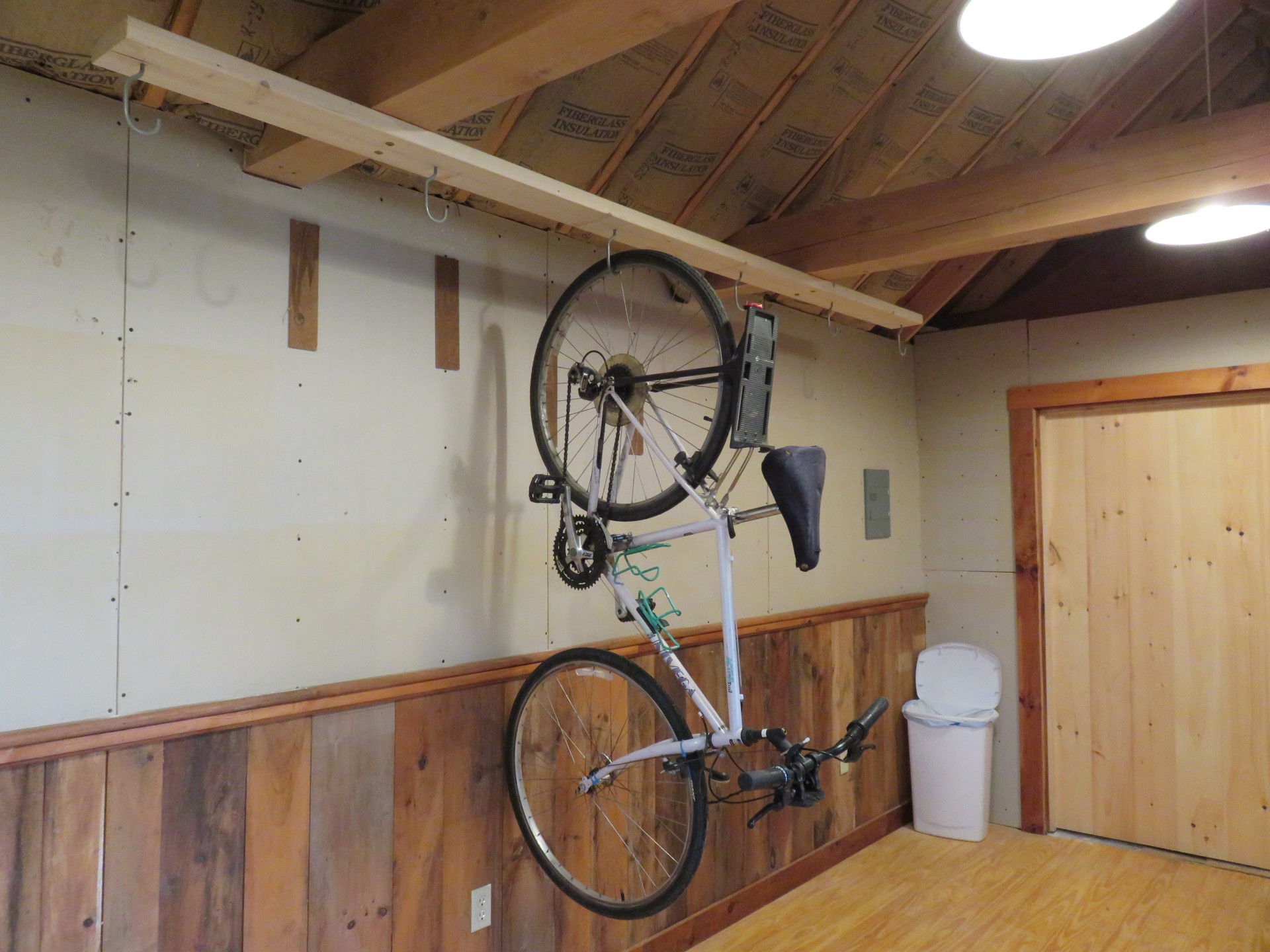 Wiscasset Woods bike friendly room, keep your bicycle with you