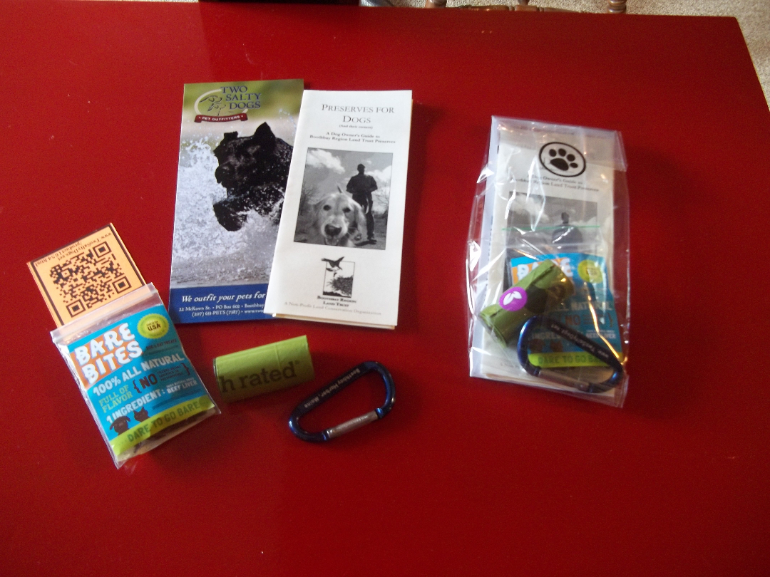 Dog Welcome Bags from Two Salty Dogs