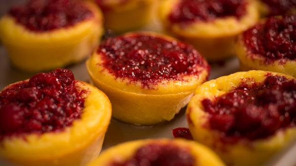 Raspberry Souffle' - Wiscasset Woods Cookbook