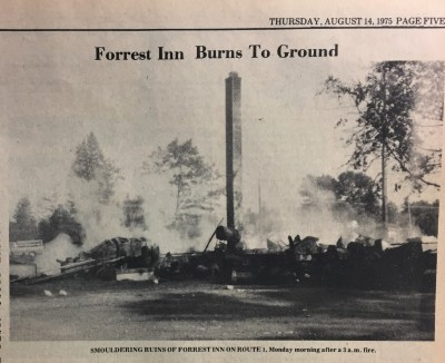 The Fire at Forrest Inn