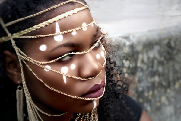 beautiful,black,woman,beauty,facepaint,jewelry,gold,lips,nose,photography,photographer,fashion,style,art,create,chic,blackwoman,lifestyle,creativity,bold,model,strong,session,photo,photoshoot