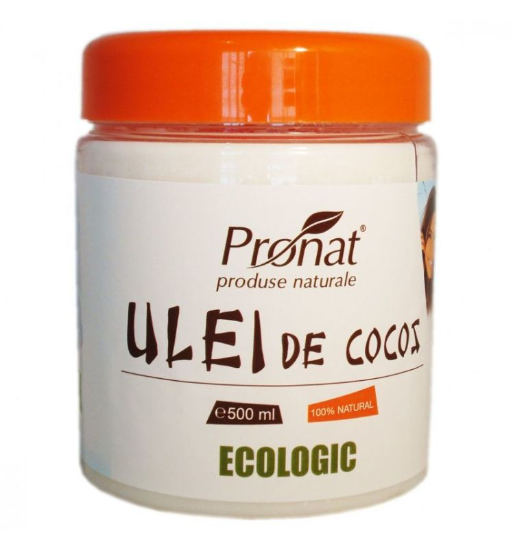 Ulei ecologic de cocos, 500 ml