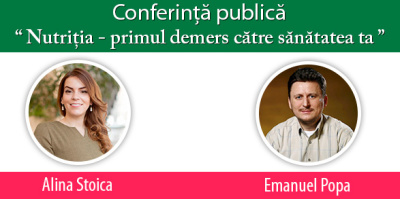 Conferinta publica despre nutritie