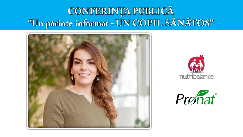 "Conferința publică ""Un părinte informat - un copil sănătos"""