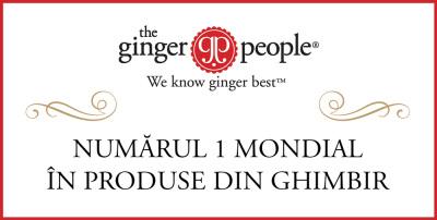 Ginger People - Numărul 1 mondial în produse din ghimbir, prin Pronat