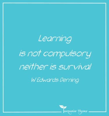 Learning is not compulsory - Leaders role in Learning.  Business Performance Coaching