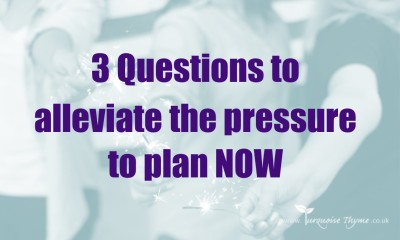 Alleviate the pressure to plan NOW Leadership Coaching, Planning