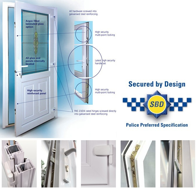 Secured by Design UPVC Lock