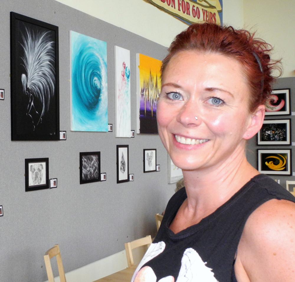Queen of the Acrylics Zoe Clements