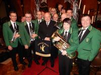 Fairlop Brass Band at St Nicholas Church, Kelvedon Hatch