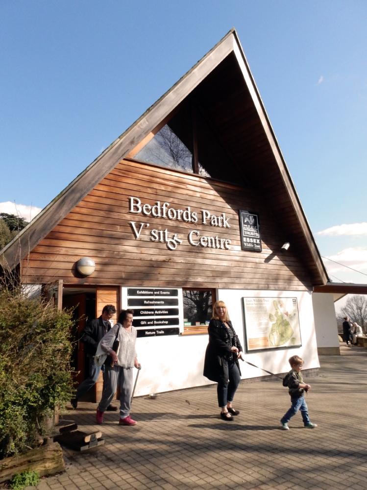The Essex Wildlife Trust Visitor Centre in Bedfords Park