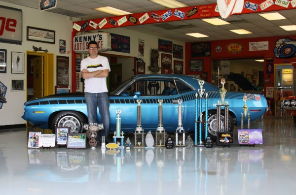 The restored Cuda Chuck and Rudy