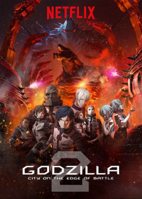 Episode 341 - Godzilla: City on the Edge of Battle (2018)