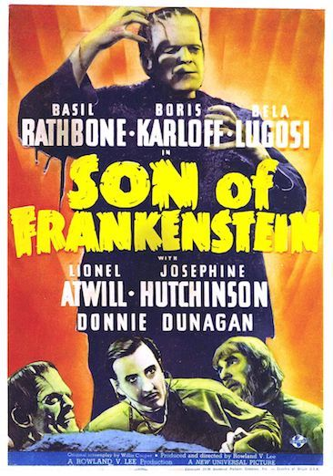 Episode 622 - Son Of Frankenstein (1939)